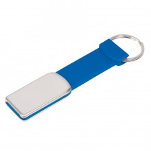 "USB flash-карта ""Flexi"" (8Гб), синий, 8,5х2х0,5 см, металл, пластик"