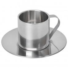 """Кофейная пара """"Coffemania""""; 100 мл; металл; лазерная гравировка"""