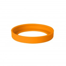 """Комплектующая деталь к кружке 25700 """"Fun"""" - силиконовое дно, оранжевый"""