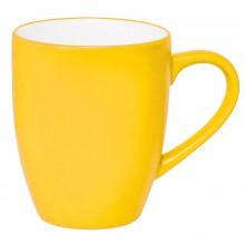 """Кружка """"Milar"""", желтый, 300мл, фарфор"""