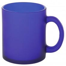 """Кружка """"Frost"""",синяя,320мл,стекло"""