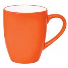 """Кружка """"Milar"""", оранжевый, 300мл, фарфор"""