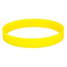 """Браслет силиконовый """"Фантазия-2""""; D6,5см; желтый"""