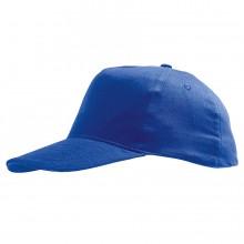 "Бейсболка ""Sunny Kids"" 5 клиньев, синий, 100% хлопок, 180г/м2"