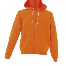 ASTI Толстовка Италия с капюшоном, на молнии, оранжевый