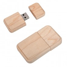 """USB flash-карта """"Wood"""" (8Гб),4,9х2,9х1,1см,дерево"""