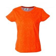 IBIZA LADY Жен. футболка круглый вырез, оранжевый