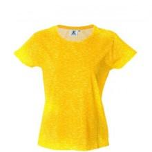 IBIZA LADY Жен. футболка круглый вырез, желтый