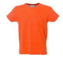 IBIZA MAN Муж. футболка круглый вырез, оранжевый