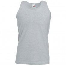 """Майка мужская """"Athletic Vest"""", серо-лиловый, 100% х/б, 160 г/м2"""