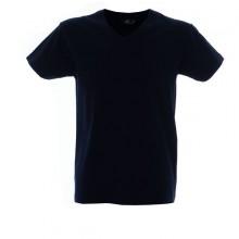 CUBA футболка V-вырез темно-синий