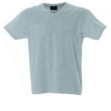CUBA футболка V-вырез серый меланж