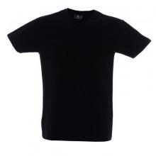 CUBA футболка V-вырез черный