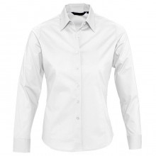 "Рубашка ""Eden"", белый, 97% хлопок, 3% эластан, 140г/м2"
