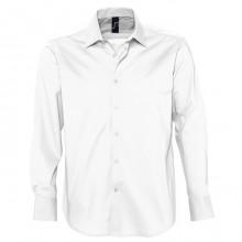 """Рубашка """"Brighton"""", белый, 97% хлопок, 3% эластан, 140г/м2"""