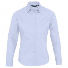 """Рубашка """"Eden"""", небесно-голубой, 97% хлопок, 3% эластан, 140г/м2"""