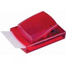 Диспенсер для записей; красный; 12х8,3х5,5 см; пластик; тампопечать