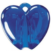 HEART CLACK, держатель для ручки, прозрачный синий, пластик