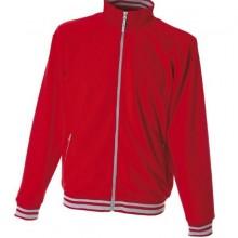NORVEGIA Куртка флис, на молнии, красный