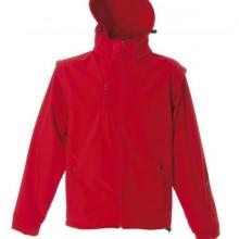 BRUNICO Куртка софтшел, водонеприницаемый красный