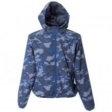 """Ветровка мужская """"Madeira Man"""", камуфляж синий, 100% полиэстер, 20D; подкладка: 100% полиэстер"""