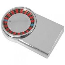 """Игра """"Рулетка""""; 10,3х6,4х1,9 см; посеребренный металл; лазерная гравировка"""