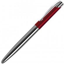 CARDINAL, ручка шариковая, красный/хром, металл