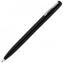 CLICKER, ручка шариковая, черный, металл