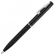 CLICKER, ручка шариковая, черный/хром, металл