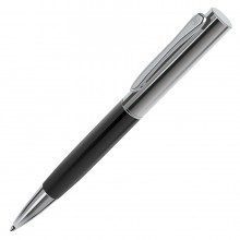CRAFT, ручка шариковая, черный/хром, металл