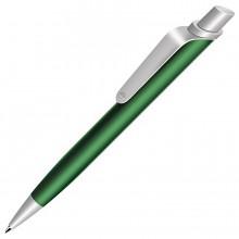 ALLEGRO, ручка шариковая, зеленый/хром, металл