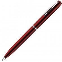 CLICKER, ручка шариковая, красный/хром, металл