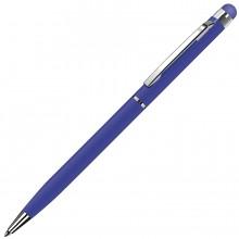 TOUCHWRITER, ручка шариковая со стилусом для сенсорных экранов, синий/хром, металл