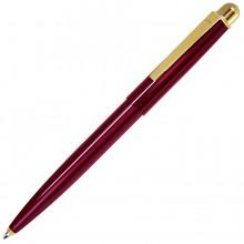 DELTA NEW, ручка шариковая, красный/золотистый, металл