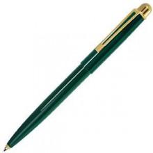 DELTA, ручка шариковая, зеленый/золотистый, металл