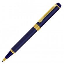 DEPUTY, ручка шариковая, синий/золотистый, металл