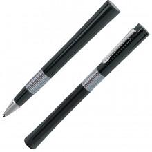 ELEGANT, ручка-роллер, черный/хром, металл