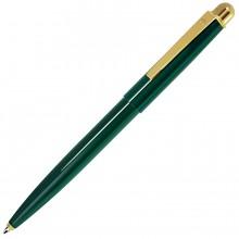 DELTA NEW, ручка шариковая, зеленый/золотистый, металл