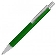 CLASSIC, ручка шариковая, зеленый/серебристый, металл, черная паста