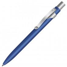 ALPHA, ручка шариковая, синий/хром, металл