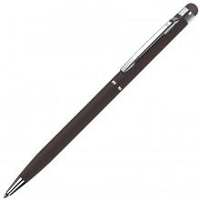 TOUCHWRITER, ручка шариковая со стилусом для сенсорных экранов, черный/хром, металл