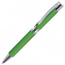 CITRUS, ручка шариковая, зеленый/хром, металл