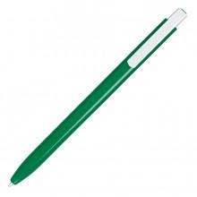 ELLE, ручка шариковая, темно-зеленый/белый, пластик