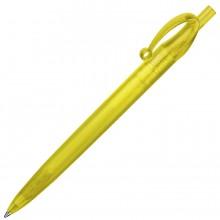 JOCKER, ручка шариковая, фростированный желтый, пластик