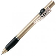 ALLEGRA METAL, ручка шариковая, золотистый, металл