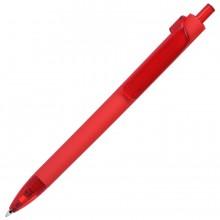 FORTE SOFT, ручка шариковая, красный, пластик, покрытие soft