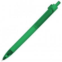 FORTE SOFT, ручка шариковая, зеленый, пластик, покрытие soft