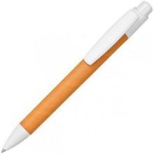 ECO TOUCH, ручка шариковая, оранжевый, картон/пластик