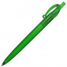 JOCKER, ручка шариковая, фростированный зеленый, пластик