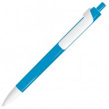 FORTE, ручка шариковая, голубой/белый, пластик
